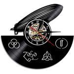 Antike Led Zeppelin Schallplattenuhren