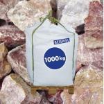Gabionen Steine Marmorkies Arabescato 70-120 mm 1000kg BigBag