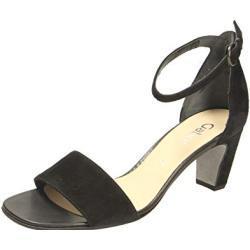 Schwarze Elegante Gabor Fashion Damensandalen mit Riemchen für den Sommer