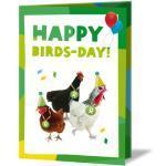 Goldene Nachhaltige Oxfam Kühlschrankmagnete mit Huhn-Motiv