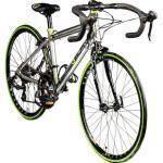 Galano Vuelta STI 24 Zoll Rennrad Jugendliche Jugendfahrrad 14 Gang... silber, 35.5 cm