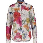 "Gant Damen Bluse ""Humming Floral"" Langarm, offwhite, Gr. 46"