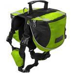 Gaorui Hunderucksack Wasserdicht Satteltasche Geschirr Wandern Camping Training Tasche Verstellbar Groß