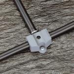 Gardena 08380-20 Micro-Drip-System Rohrklemme, 13 mm (1/2) 2 Stück