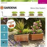 Gardena 13006-20 Micro-Drip-System Erweiterungsset Pflanztröge