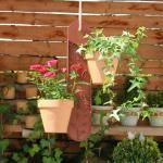 GardenGuard Blumenampel, braun