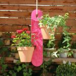 GardenGuard Blumenampel, pink