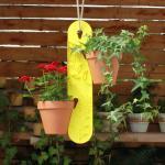 GardenGuard Blumenampel, zitrone
