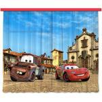 Gardine/Vorhang FCS xl 4315 Kinderzimmer Disney Cars