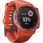 Garmin Instinct Solar GPS-Uhr (Rot)