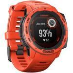 GARMIN Instinct Solar Smartwatch rot, schwarz