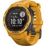 """Garmin Multisport GPS-Smartwatch """"Instinct Solar"""", gelb, Einheitsgröße"""