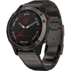 """Garmin Smartwatch """"Fenix 6 Pro Solar"""", schwarz, Einheitsgröße"""