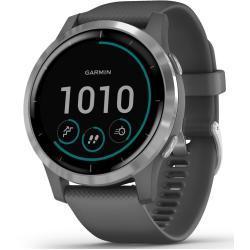 Garmin Vivoactive 4 Smartwatch dark grey/silver 2020 Laufuhren & Brustgurte