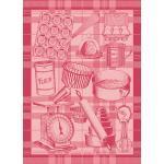 Garnier-Thiebaut Geschirrtuch Bakery Red 56 x77 cm