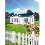 Gartenhaus Palmako Anna 26,8 m² inkl. Fußboden 800 x 500 cm natur