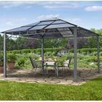 Gartenpavillon Hardtop Sunset Deluxe, 4x4m Pavillon