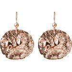 Gemshine Ohrringe Münzen Ohrhänger Pegasus Pferd 925 Silber, vergoldet oder rose - Runde Antique Ethnic Vintage Coin - Qualitätsvoller Schmuck Made in Spain