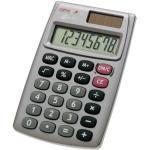 Genie Taschenrechner 510 Solar-/Batterie LCD-Display silber 1-zeilig 8-stellig
