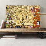Gerahmtes Leinwandbild Der Baum des Lebens von Gustav Klimt