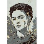 Gerahmtes Leinwandbild Porträt von Frida Kahlo