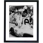 Gerahmtes Poster Steve McQueen Le Mans Porsche 917