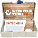 Geschenkgutschein Wert 50 € (Motiv Holz) - im Miniatur Systainer