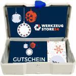Geschenkgutschein XMAS Wert 20 € (Motiv Geschenke) - im Miniatur Systainer