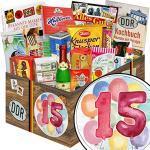 Geschenkidee 15. Hochzeitstag / Ostbox mit Süßigkeiten / 15. Hochzeitstag Mann