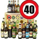 Geschenkideen 40. / 24 Biere Welt und DE/Frau 40igster Geburtstag/Bier Weihnachtskalender