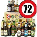 Geschenkideen 72. / Bier Geschenk Welt und DE/Geschenke 72. Geburtstag Mann/Adventskalender Bier 2019