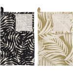 Geschirrhandtuch Ivora 2er Set aus Baumwolle, 70 x 45 cm, diverse