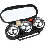 Get & Go Spiel Boule Set III 3 Kugeln Silbern 52JO-CGA-Uni