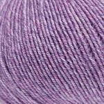 ggh Merino Melange, Farbe:010 - Lavendel meliert, 100% Merinowolle (Mulesing Free), 50g Wolle als Knäuel, Lauflänge ca.170m, Verbrauch 450g, Nadelstärke 3-3,5, Wolle zum Stricken und Häkeln