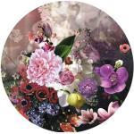 Violette Barocke Pure Living Glasbilder