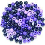 Glorex Holzperle lila-mix 8 mm (GLO663350030)