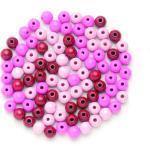Glorex Holzperle rosa-mix 12 mm (GLO663350064)