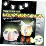 Glorex Lichterpapier weiß, 12 Blatt (GLO663250730)