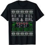 Glühwein Advent Lustiges Weihnachts Kostüm Ugly Christmas T-Shirt