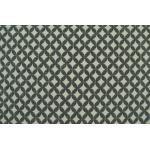 Gobelin Möbelstoff beidseitig verwendbar, Rautenmuster, grau