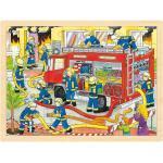 goki Puzzle »Holzpuzzle 48 Teile Feuerwehr«, Puzzleteile
