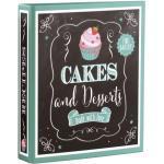 GOLDBUCH 69037 21x22,5cm Motivordner Cakes&Desserts