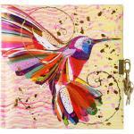 Goldbuch Tagebuch net Flower Kolibri Tagebuch