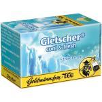 Goldmännchen Tee Gletscher cool und fresh, 20 einzeln versiegelte Teebeutel, 3er Pack (3 x 40 g)