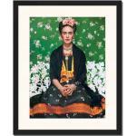 Grafikdruck Frida Kahlo von Nickolas Muray