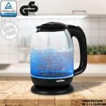 Grafner Wasserkocher Glas 1,7l max. 2200W WK10857, 2200 W