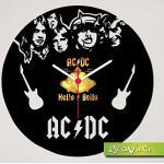 gravinci.de Schallplattenuhr AC/DC