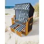"GreenGarden® 12458 Premium Rattan Strandkorb ""Venedig"" 118 cm 2-Sitzer"