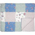 Greengate Patchwork Tagesdecke Nicoline, 180x240, weiss