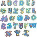 Gresunny 26pcs Patches aufnäher Buchstaben Letter Flicken aufbügeln bügeleisen Patches Applikation Aufkleber nähen Eisen Patch Abzeichen bestickte bügelflicken Kinder für Kleidung Dekoration